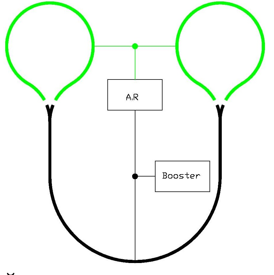 Track Feeder Wire Size Digital Voltmeter Circuit Diagram Here Is A Point To Layout With Two Balloon Tracks In Close Proximity Each Other Maybe Even One On Top Of The For Small Layouts